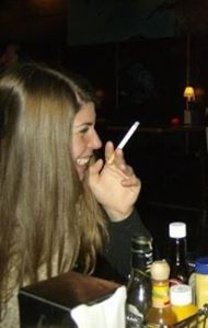 That time in Milwaukee when you could smoke in bars. That time when i would sometimes smoke. Gross.