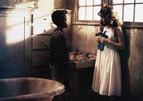 THE PEOPLE UNDER THE STAIRS, from left: Brandon Quintin Adams, A.J. Langer, 1991. ©Universal Pictures